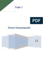 topik 1 Sistem Stomatognati