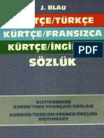 Kurtce Turkce Fransizca Ingilizce