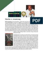 Martin Armstrong Biography May 2011