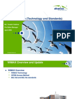 1 WiMAX Technology Forum Standards
