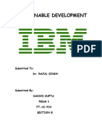 Ibm - Sustainable Dev.
