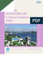 Kültür İstatistikleri (Cultural Statistics) - TÜİK