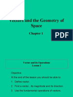 1Vector and Its Operations Lesson 1