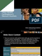 Cisco Certifications Vouchers Final