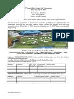 Black Heroes Golf Registration Form