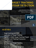 Target Tracking Contour Detection in Wsn
