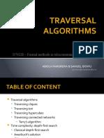 Traversal Algorithm