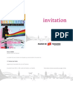 Invitation Mairie Festival Gay Pride 2011
