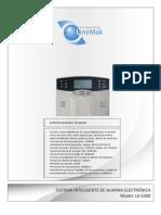 Manual de Alarma LA-S300