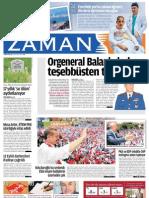 Orgeneral Balanli Darbeye Tesebbusten Tutuklandi Zaman Gazetesi 31