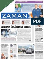 Cuntanin Orgutlenme Belgesi Zaman Gazetesi 01 06 2011