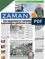 İşte kepenklerin tehditle kapandığını gösteren 6 delil Zaman Gazetesi 27/05/2011