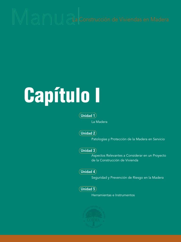 Manual de construccion de Viviendas en Madera - Corma