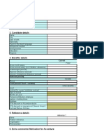A Candidate Process Form