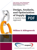 Design, Analysis, and Optimization of Supply Chains