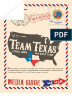 Special Olympics Texas 2011 World Games Media Guide