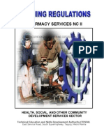 TR Pharmacy Services NC II
