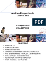 Audit and Inspection In clinical trial