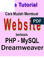 Panduan Belajar Website PHP MySQL Dengan Dreamweaver