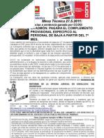 Mesa Tecnica 27.5.11