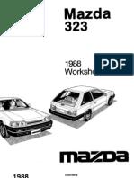 Complete 1988 Mazda 323 Workshop Manual