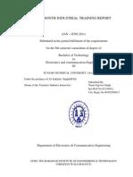(PDF)Six Month Industrial Training Report i