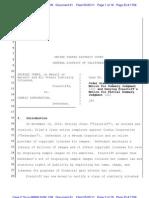 Jones v. Corbis, 10-8668 SVW (CW) (N.D. Cal.; May 25, 2011)
