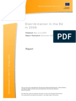 Discrimination in the EU
