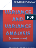 55791043 Variance and Variance Analysis