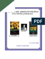 Arte Asesinato Politico Novela Policial