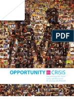 Opportunity in Crisis-Report - Preventing HIV from early adolescence to young adulthood