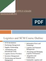 1 Supply Chain Management