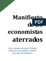 Manifiesto de Los Economist As Franceses Aterrados 2