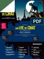 Dossier de Presse Une Vie de Chat