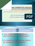 Narsimham Committee Report