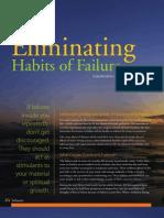 Eliminate Habits of Failure