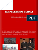 Las Pruebas de Humala