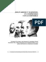 Bolivarismo y marxismo