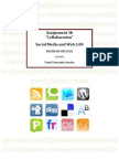 """Social bookmarking websites, """"ASSIGNMENT 3b - SOCIAL SOFTWARE AND WEB 2.00"""""""