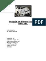 @@Honda Project@@