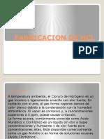FABRICACION DE HCL
