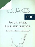 Agua Para Los Sedientos-t.d.jakes