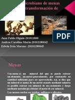 Lixiviado microbiano de minas minerales y transformación de metales