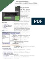 Generar Instrucciones Insert Desde Excel