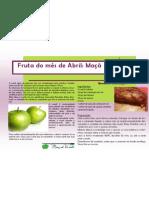 Cartaz da fruta do mês de Abril