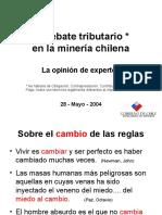 Royalty Minero en Chile