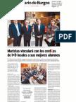 Presentación Talentia for the World_Diario de Burgos_1_6_11