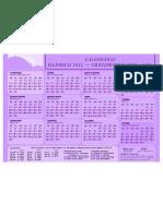 calendario islamico 2011