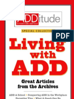 ADD Living With ADD