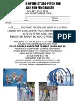 Ball Tournament 2011 Registration Form